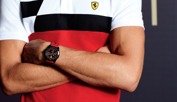 Pro příznivce Ferrari