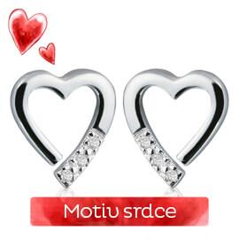 Šperky s motivem srdce