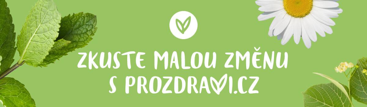 Zkuste malou změnu s Prozdravi.cz
