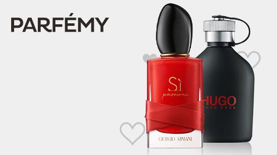 Dárky k valentýnu - parfémy