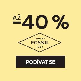 Šperky Fossil se slevou až -40 %
