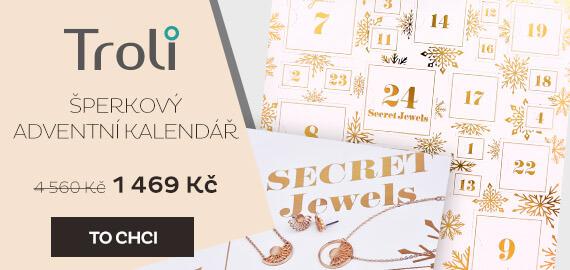 Šperkový adventní kalendář