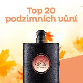 TOP 20 podzimních vůní