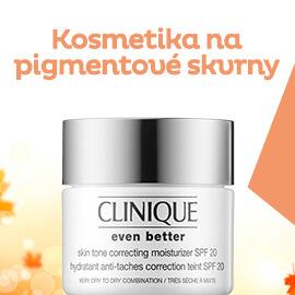 Kosmetika na pigmentové skvrny