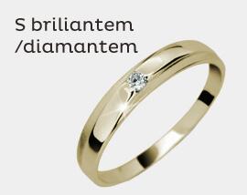 S briliantem/ diamantem