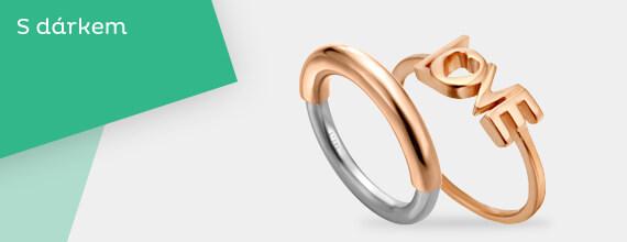 Prsteny s dárkem