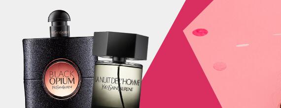 Sleva 15 % na parfémy značky Yves Saint Laurent