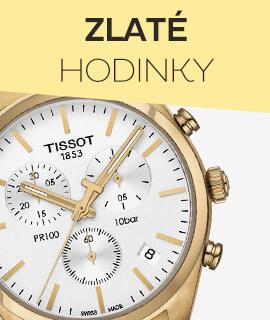 Dámské zlaté hodinky