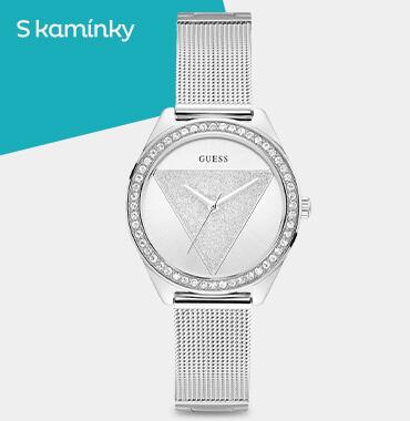 Dámské módní hodinky s kamínky