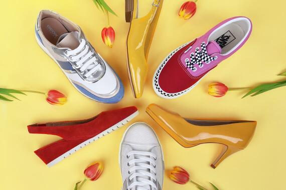 Încălțăm pantofi de primăvară