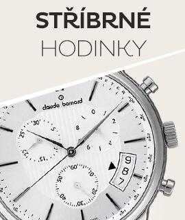 Pánské stříbrné klasické hodinky