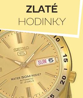 Pánské zlaté klasické hodinky
