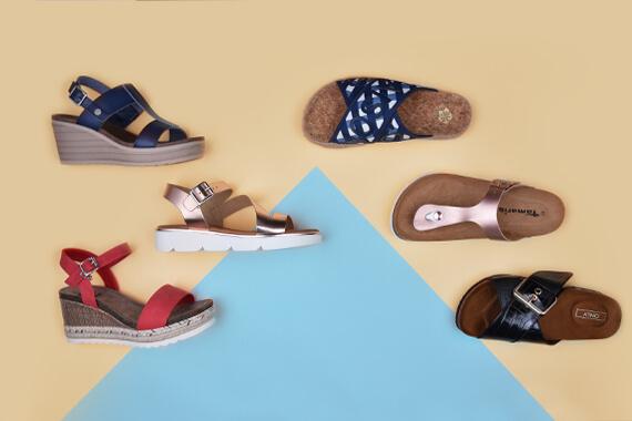 Sandály vs. pantofle