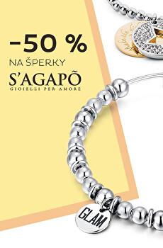 Sleva 50 % na vybrané šperky S'Agapõ