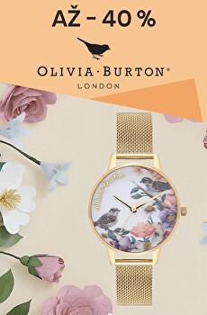 Sleva až 40 % na hodinky Olivia Burton