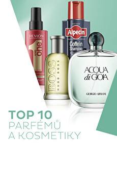 TOP 10 - parfémy a kosmetika