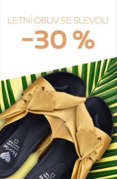 Aktuální kolekce obuvi - 30 %