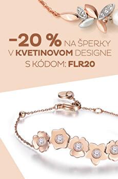 Zľava 20 % na šperky dizajn Flora
