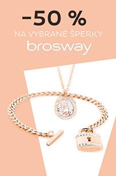 Sleva 50 % na vybrané šperky Brosway