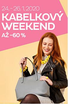 Kabelkový weekend se slevou až 60 %