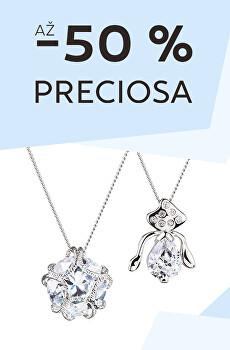 Sleva -50 % na šperky Preciosa