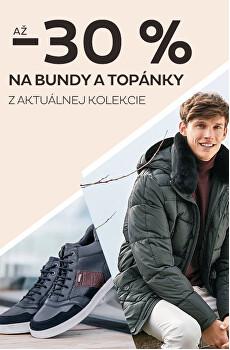 Bundy, kabáty a boty se slevou až 30 %