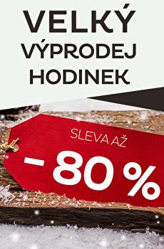 Velký výprodej hodinek - sleva až 80 %