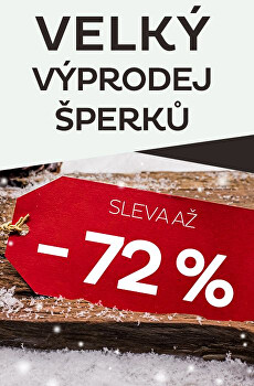 Velký výprodej šperků - sleva až 72 %