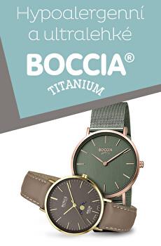 Hypoalergenní a ultralehké hodinky Boccia Titanium