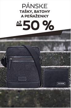 Tašky, batohy a peňaženky až -50%
