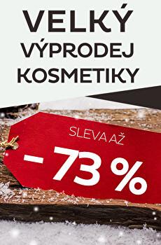 Velký výprodej kosmetiky - sleva až 73 %