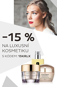 -15% luxusni kosmetika s heslem 15KRLX