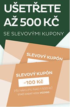 Vánoční kupóny - ušetřete až 500 Kč