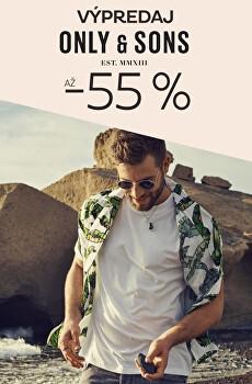 Výpredaj ONLY&SONS sleva až 55 %