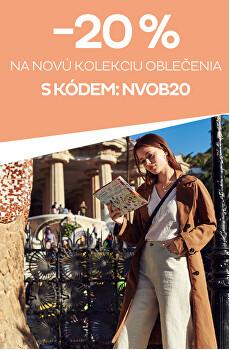 -20% na novú kolekciu oblečenia