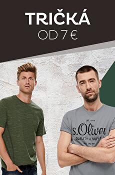 Tričká od 7 €