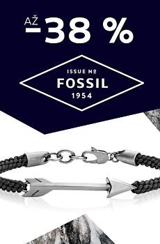 Sleva 30 % na šperky Fossil