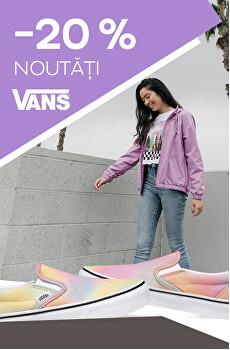Novinky Vans -20 %
