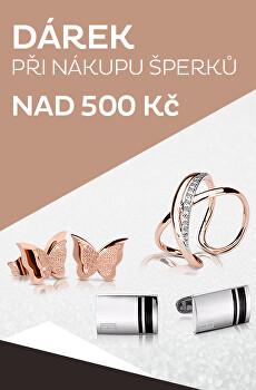 Dárek k nákupu šperků nad 500 Kč