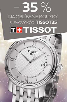 Sleva 35 % na hodinky Tissot