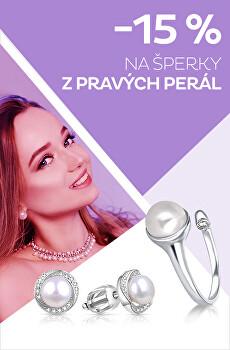-15 % na šperky z pravých perál