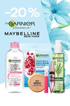 -20% se značkami Garnier a Maybelline