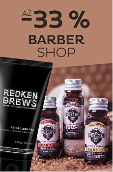 Barber shop se slevou až 33%