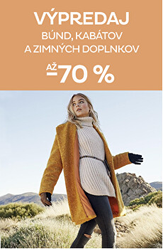 Výpredaj dámskych zimných kúskov až -70 %