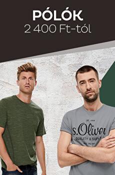 Pólók 2 400 Ft-tól