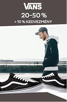 novinky Vans - 20 %