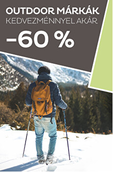 Outdoor márkák kedvezménnyel akár -60%