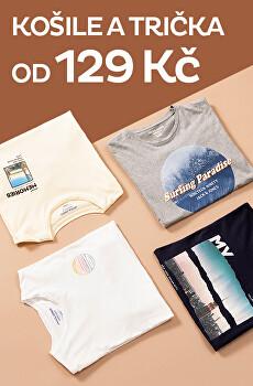Výprodej trika a košile od 129 Kč