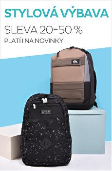 Stylové batohy a tašky se slevou