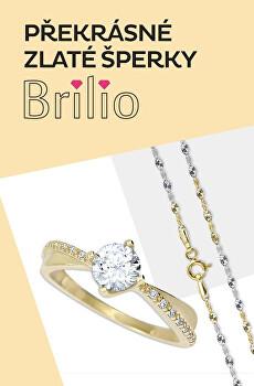 Zlaté šperky Brilio